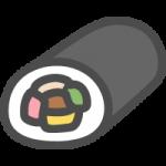 [節分]恵方巻き(巻き寿司)のイラストアイコン