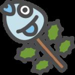 [節分]柊鰯(ひいらぎいわし)のイラストアイコン