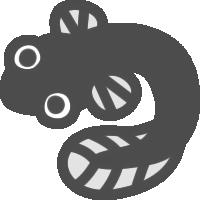 鰻(うなぎ)のアイコンイラスト