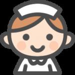 かわいい看護師(ナース)のアイコンイラスト