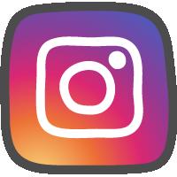 Instagram(インスタグラム)ロゴの手書きアイコン